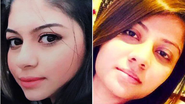 Attack victims Layan Nasser, 19, (also known as Leanne) and Khushi Shah, 27