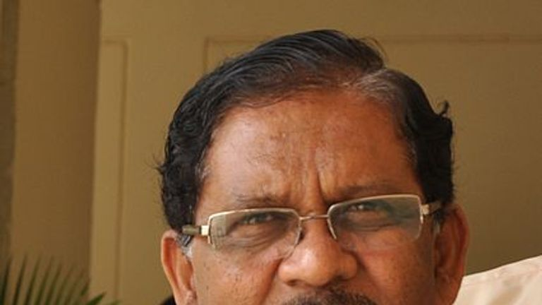 G Parameshwara made the comments on television. Pic: Wikipedia/Majeshpv