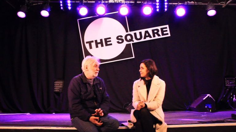 Venue manager of The Square Dave Bennett talks to Sky's Katie Spencer