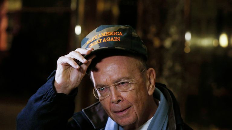 Wilbur Ross has been nominated as commerce secretary