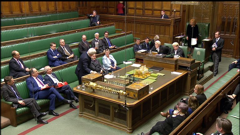 The Government presents a bill seeking Parliament's approval to trigger Article 50