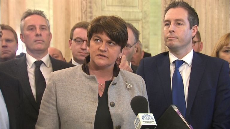 Arlene Foster says Northern Ireland does not want another election