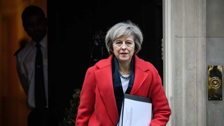 Brexit is among the major issues facing Theresa May