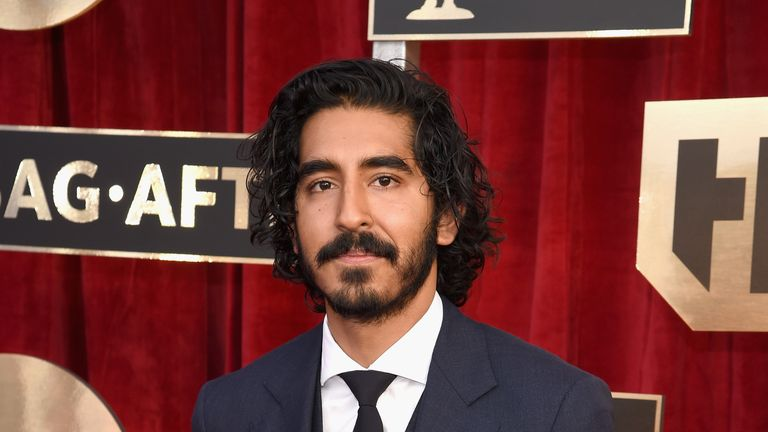 Dev Patel is nominated for the oscar for Best Supporting Actor for 'Lion'