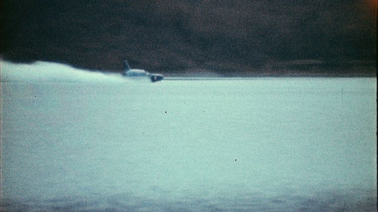 Donald Campbell was killed while trying to break the world speed record in his boat, Bluebird