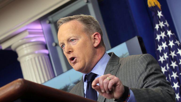 Press Secretary Sean Spicer