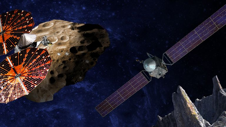 The Lucy spacecraft will target Jupiter's mysterious Trojan asteroids