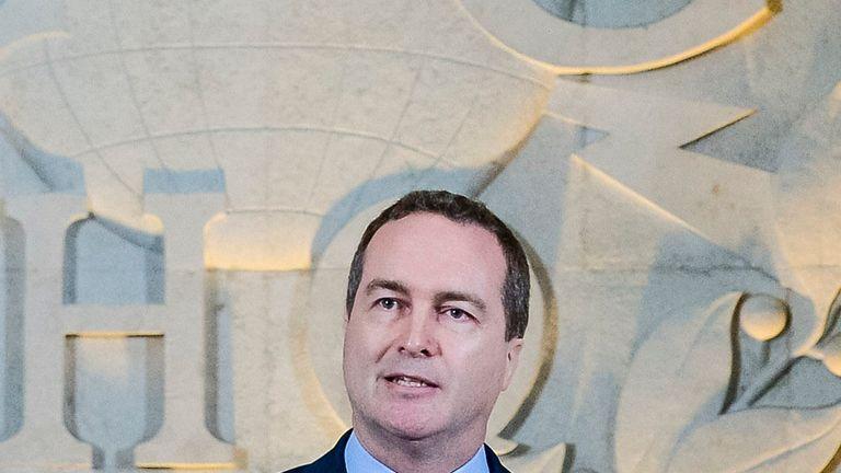 Robert Hannigan has been head of GCHQ since 2014