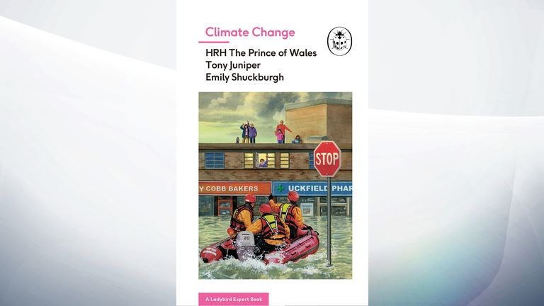 The cover of a Ladybird book on climate change co-authored by the Prince of Wales