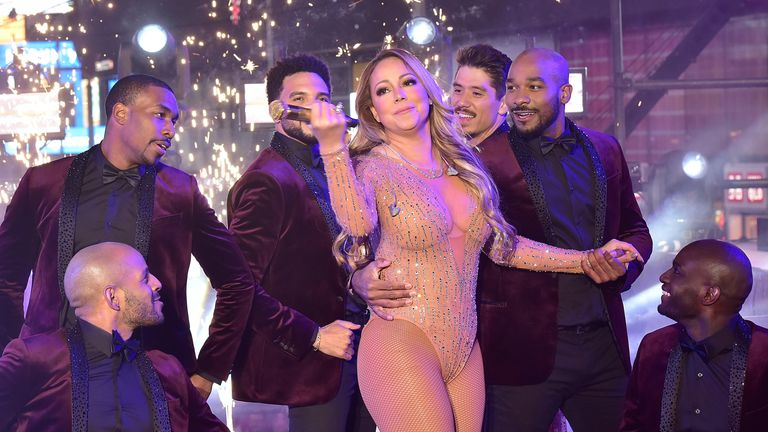 Carey had allegedly suffered from a bad rehearsal schedule earlier the night