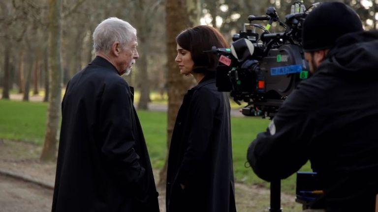 Sir John Hurt and Natalie Portman