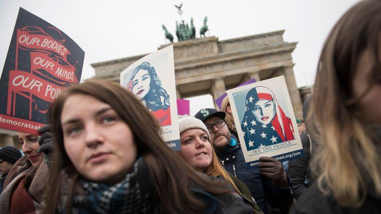 Women make their voices heard in Berlin