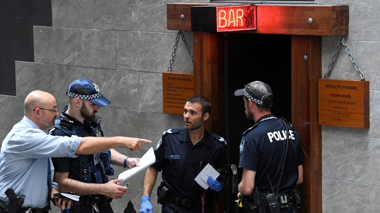 The Brooklyn Standard bar in Brisbane, where the shooting took place