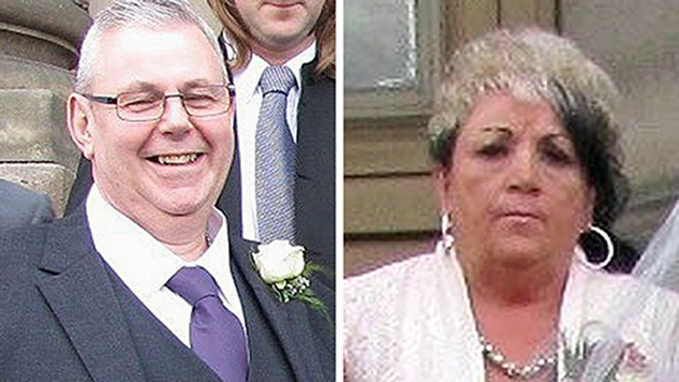 Christopher Bell, 59, and his 54-year-old wife Sharon, from Leeds,