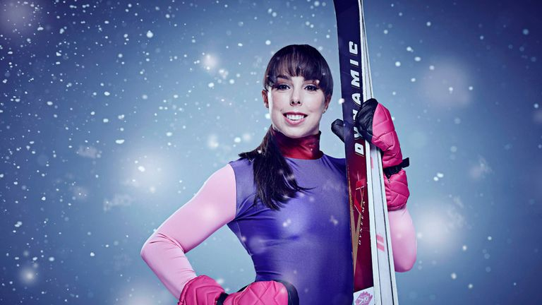 Beth Tweddle in a publicity shot for The Jump. Pic: Channel 4