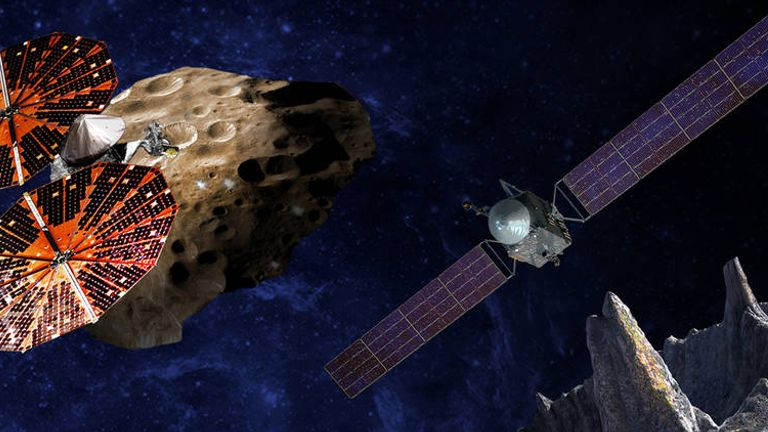 Psyche will be the first mission to explore a giant metal asteroid