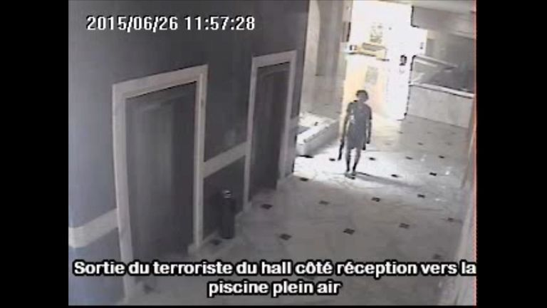 Seifeddine Rezgui Yacoubi during his rampage in Tunisia