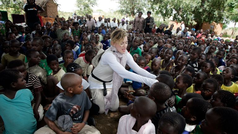 Madonna's Malawi affair has been criticised by the country's former president