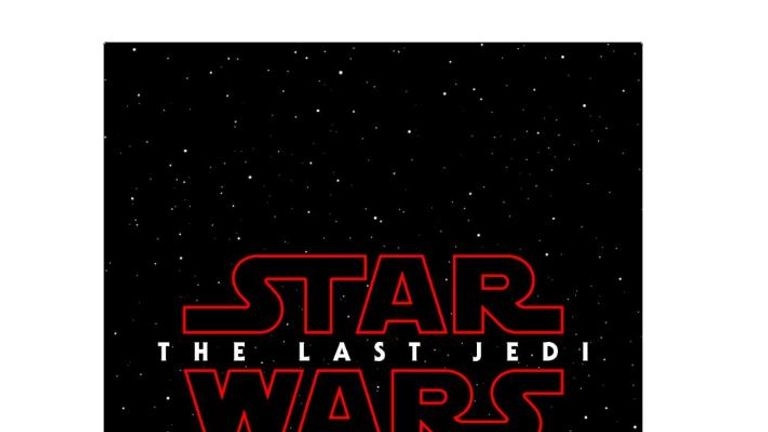 This film poster was tweeted by the official Star Wars account