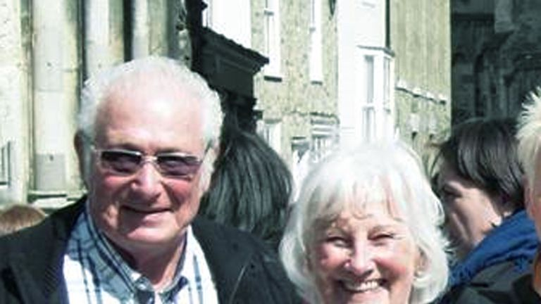 Ray and Angela Fisher from Leicester