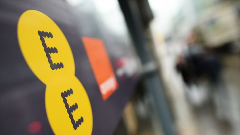EE was bought by BT in 2016 for £12.5bn