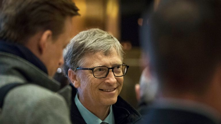 Bill Gates has pledged to give away most of his wealth