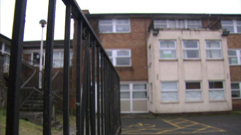 The former Broomfields Nursing Home site in Bristol