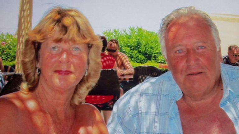 Plumber John Welch and his partner Eileen Swannock
