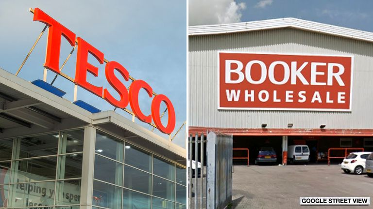 Tesco and Booker