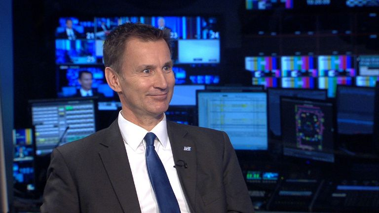 Jeremy Hunt insists that generally the NHS is doing a good job