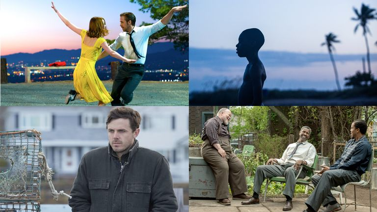 La La Land, Moonlight, Manchester By The Sea, Fences