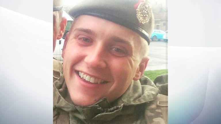 L/Cpl Scott Hetherington who died in Iraq on 2 January, 2016. Pic: Hetherington Family
