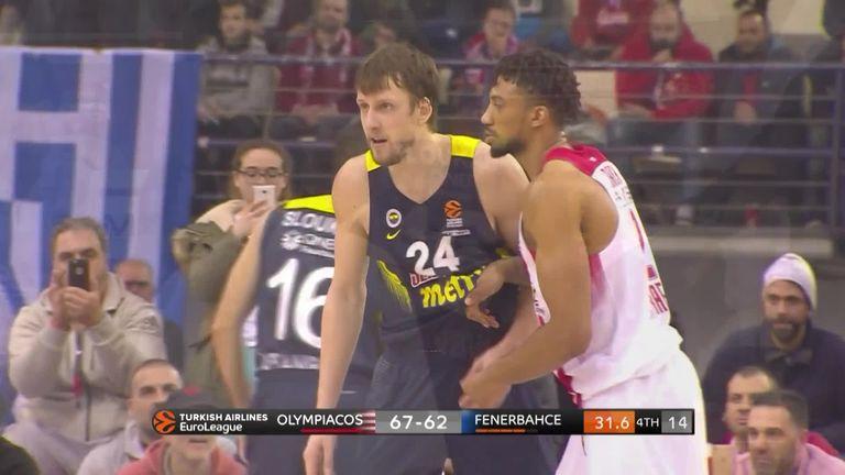 Fenerbahce Olympiakos Basketball