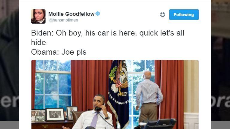 Barack Obama, Joe Biden meme
