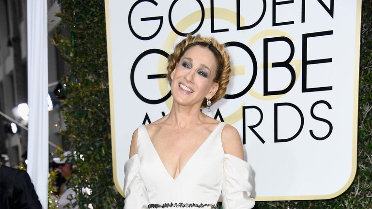 Actress Sarah Jessica Parker attends the 74th Annual Golden Globe Awards at The Beverly Hilton Hotel on January 8, 2017 in Beverly Hills, California