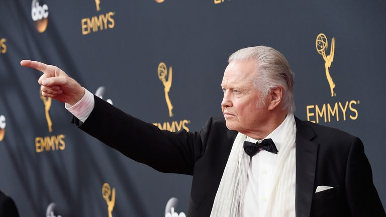 LOS ANGELES, CA - SEPTEMBER 18: Actor Jon Voight attends the 68th Annual Primetime Emmy Awards