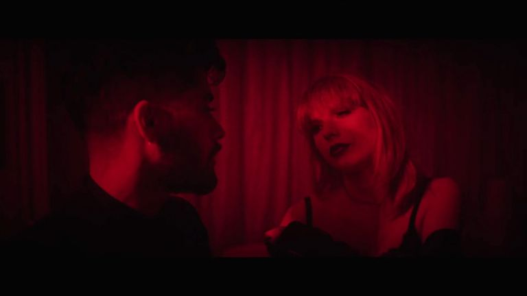 Malick and Swift team-up for Fifty Shades video