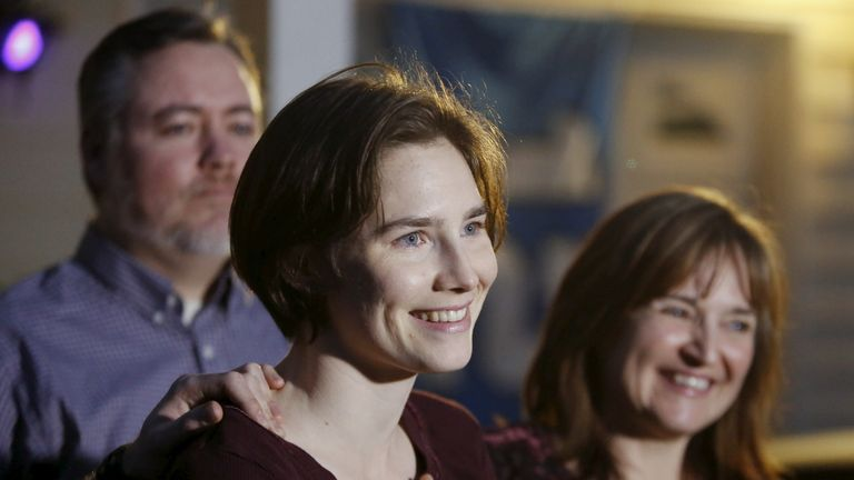 Amanda Knox's case hit the headlines before she was acquitted in March 2015