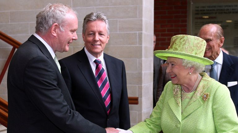 The former Deputy First Minister's meeting with The Queen was a symbolic act of reconciliation