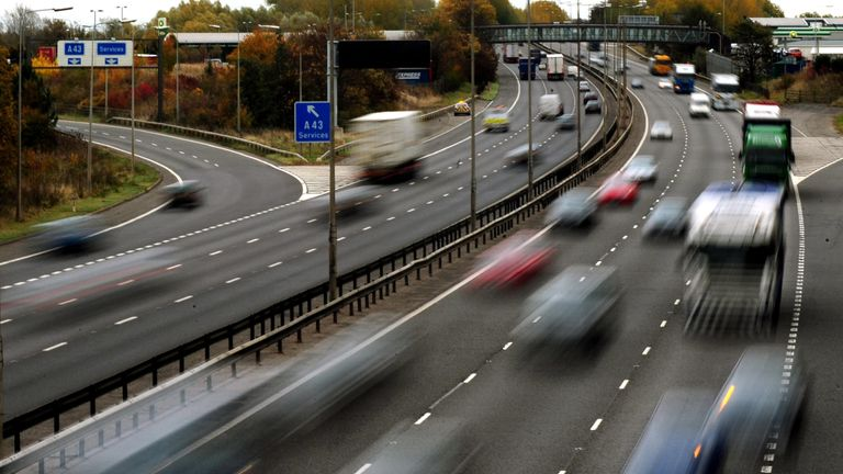 It is hoped the tougher penalties for speeding will make motorists 'think twice'