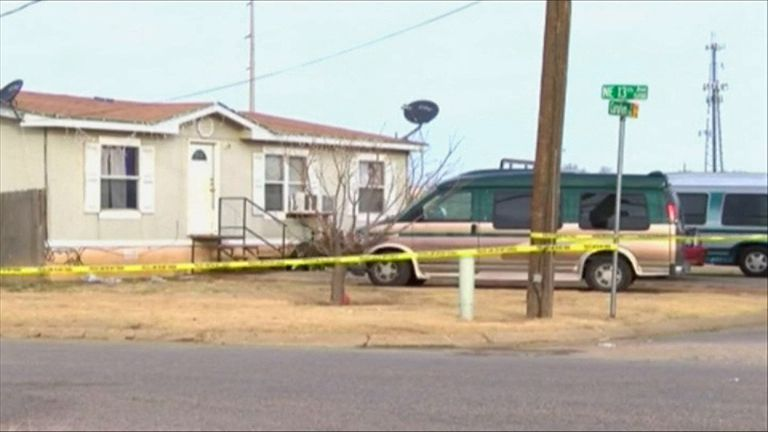 Four children died in the incident