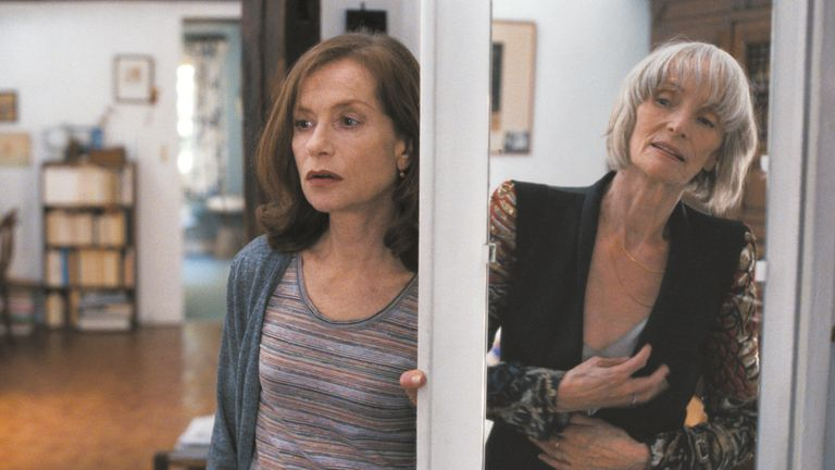 Huppert plays a philosophy teacher recovering froim the death of her mother