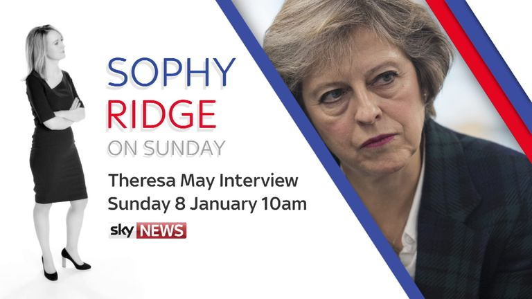 Watch Sophy Ridge interview Theresa May at 10am on Sunday