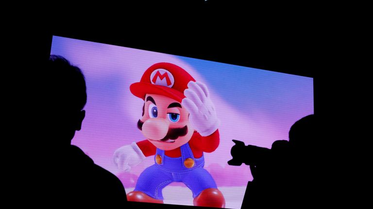 Nintendo's iconic game character Super Mario is getting two new games
