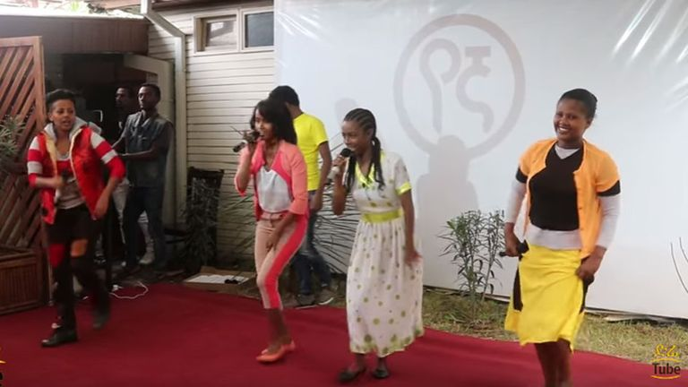 Yegna performing