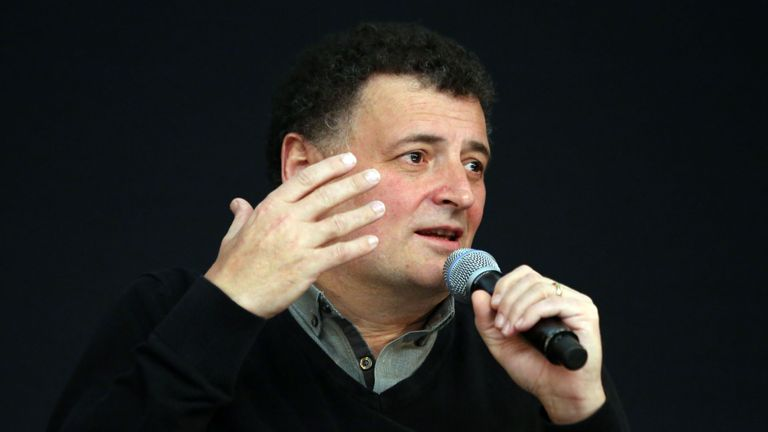 Steven Moffat says he's 'facing up to leaving the best job I'll ever have'