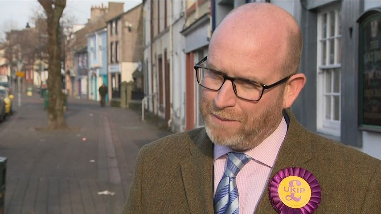 UKIP leader Paul Nuttall