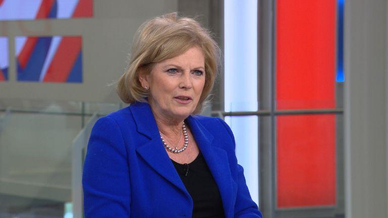 Anna Soubray appeared on Sophy Ridge on Sunday on Sky News