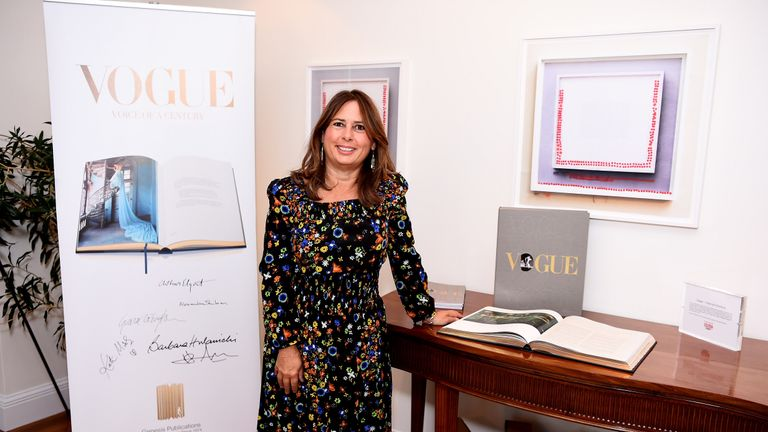 Schulman has been British Vogue'e editor-in-chief for 25 years