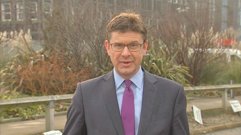 Business and Energy Secretary Greg Clark